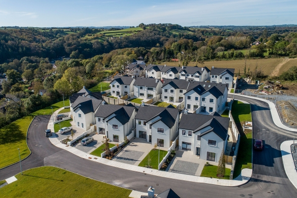 innishannon aerial view